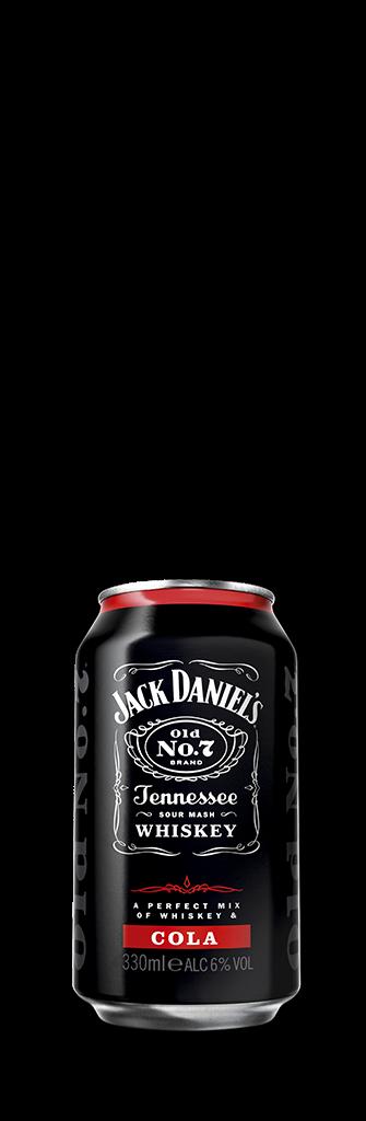 Jack and coke bottle